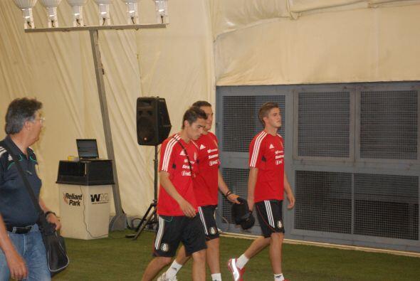 Dichos futbolistas fueron Héctor Reynoso, Paul Aguilar e Hiram Mier, los...