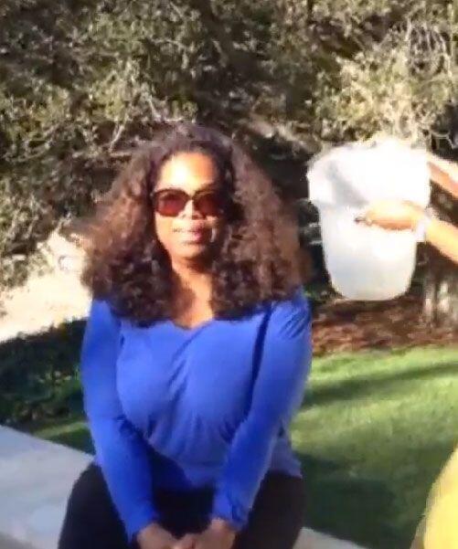 De plano creemos que Oprah Wifrey fue la que menos disfrutó de esta acti...