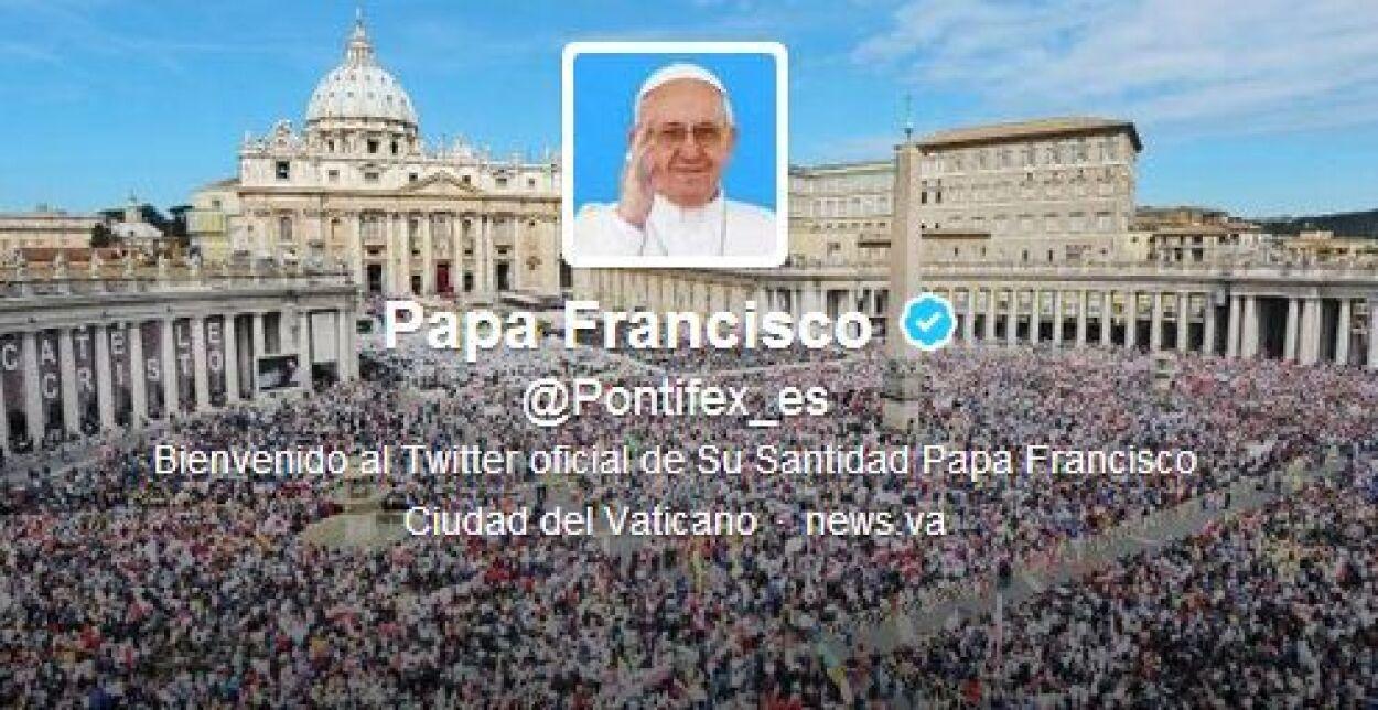 """El 17 de marzo escribió su primer tuit: """"Queridos amigos, les doy las gr..."""