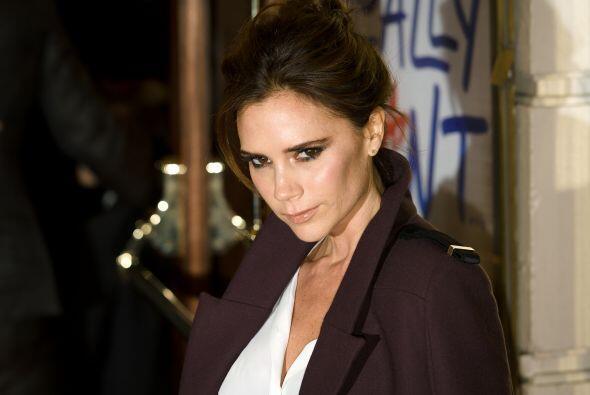 Además de cantante, la esposa de David Beckham es diseñadora de modas, c...