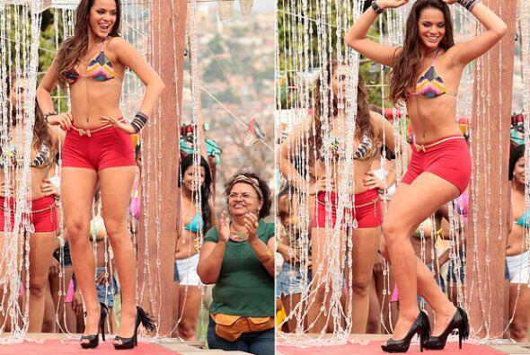 La ex novia de Neymar fue considerada por la revista brasileña VIP, como...