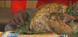 """Cómo evitar el estrés durante """"Thanksgiving"""""""