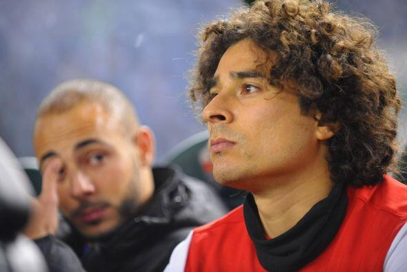 Guillermo Ochoa, quien después de tener una extraordinaria Copa d...
