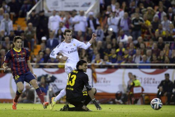 Bale se hizo una gran jugada dejando rivales por el camino y superando a...