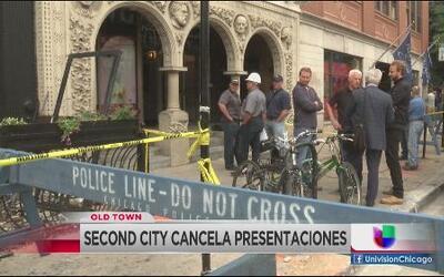 Second City cancela presentaciones
