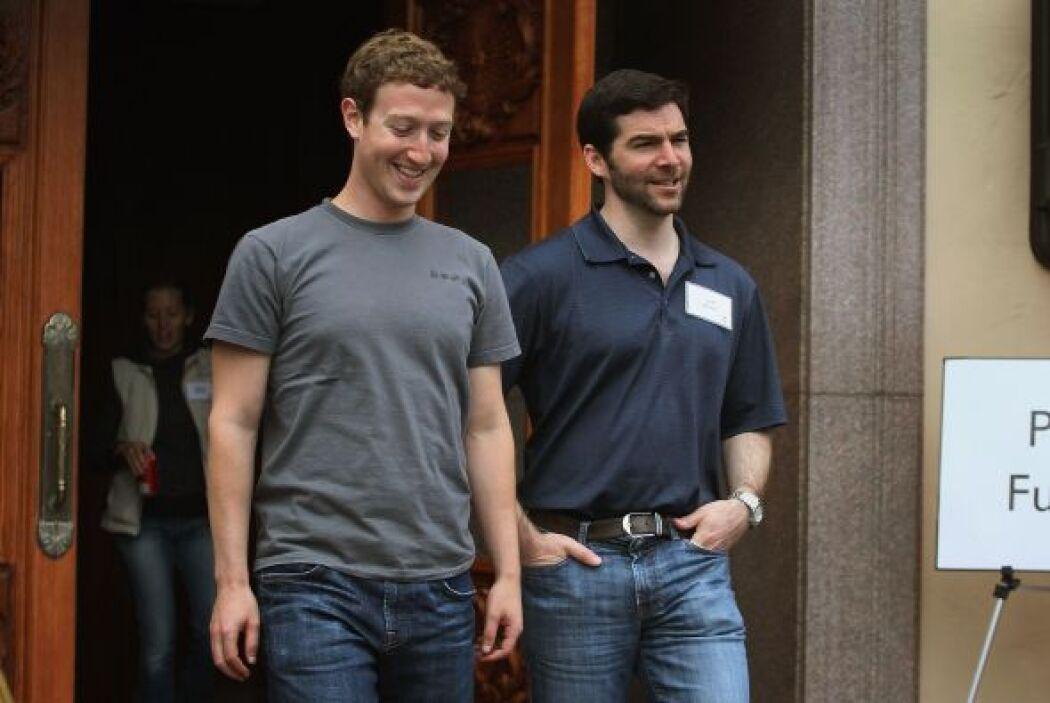 Mark Zuckerberg, co-fundador y pilar indiscutible de uno de los gigantes...