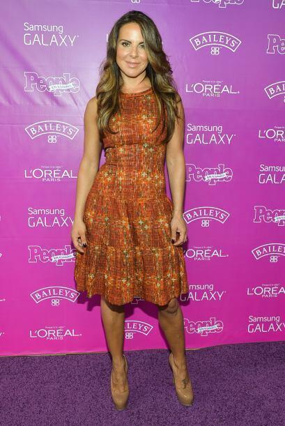 La actriz Mexicana Kate del Castillo fue reconocida por su labor como em...