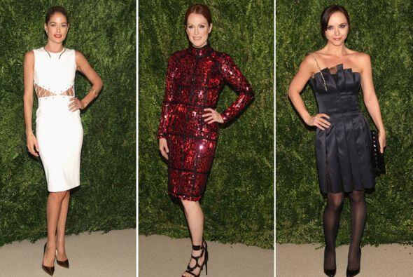 Celebridades, diseñadores y gente interesada en la moda fueron a los CFD...