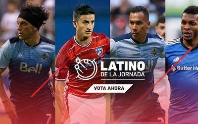 Bolaños, Blas, Mauro y Quintero están nominados al Latino de la Jornada 11