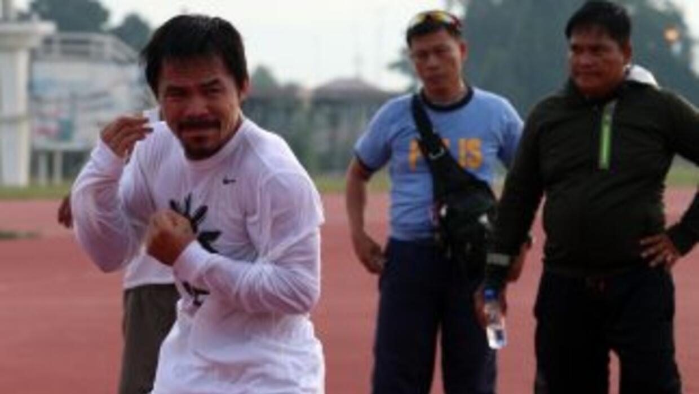 Manny Pacquiao listo para Chris Algieri.