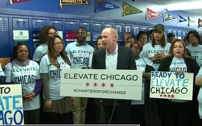 'Chicago en un Minuto': las escuelas Elevate Chicago anuncian que celebr...