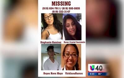 Continúa la búsqueda de cuatro jóvenes desaparecidos en Smithfield