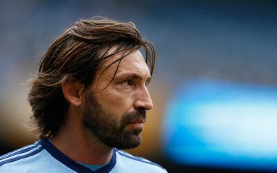 Andrea Pirlo acepta de manera profesional las decisiones del entrenador.