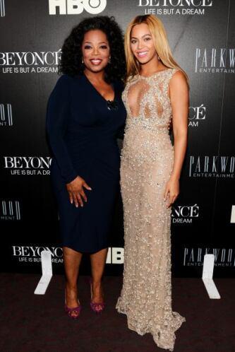 Pisándole los talones se encuentra su gran amiga Beyoncé.