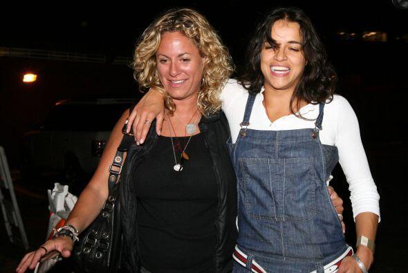 Michelle Rodriguez levantó comentarios de admiración cuand...