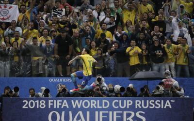 Brasil ya tiene su contraseña para Rusia 2018.