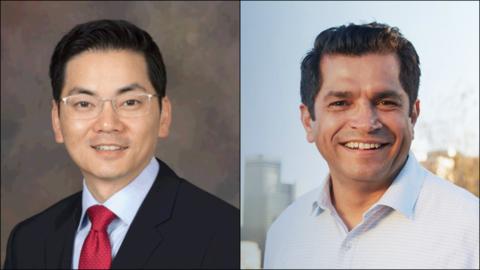 Robert Lee Ahn y Jimmy Gómez, candidatos al Congreso por el Distr...