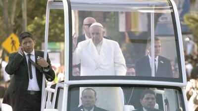 Papa Francisco dice adiós a México