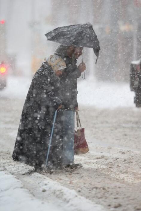 El Servicio Meteorológico Nacional espera que en la ciudad caigan entre...