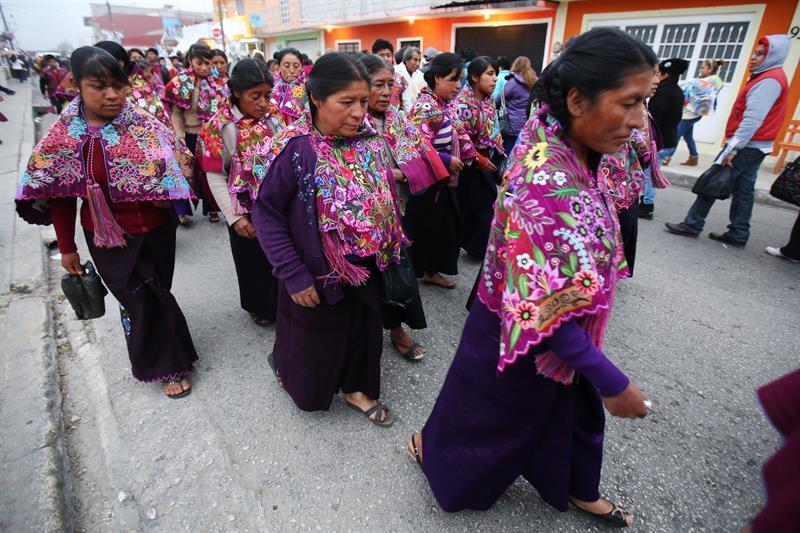 El papa visita Chiapas