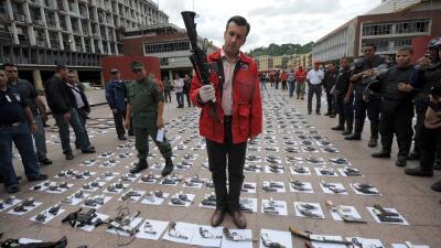 Qui n es tareck el aissami el vicepresidente de venezuela Quien es el ministro de interior y justicia