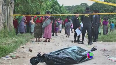 Discordias violentas en Guatemala