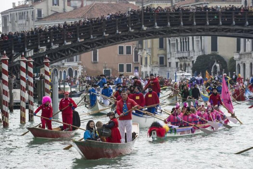 Entre tradición y eventos turísticos, el carnaval de Venecia ha sabido c...