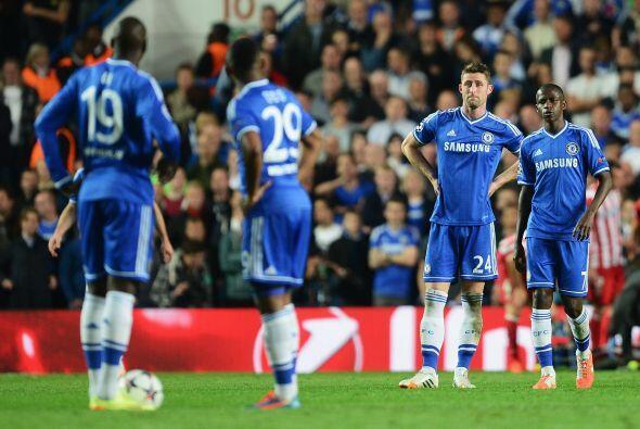 Así jugó Chelsea.