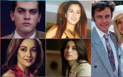 Así se veían estos famosos en su primera telenovela