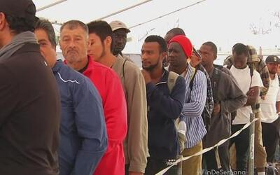 Crisis migratoria en albergues de Tijuana