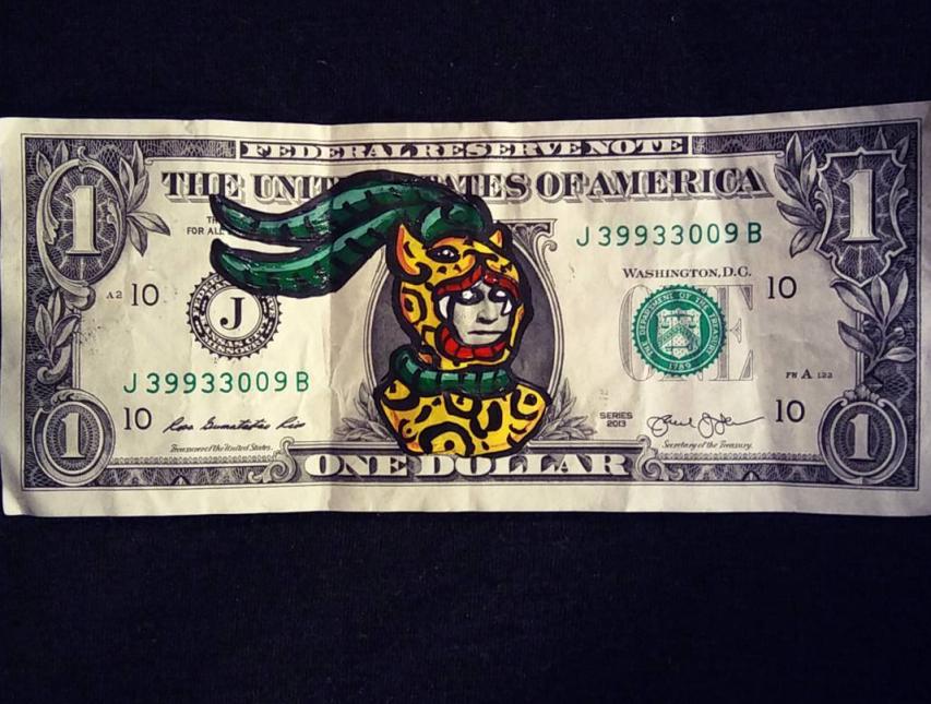 Trump moriría si ve estos billetes de un dólar con el Chapulín Colorado...