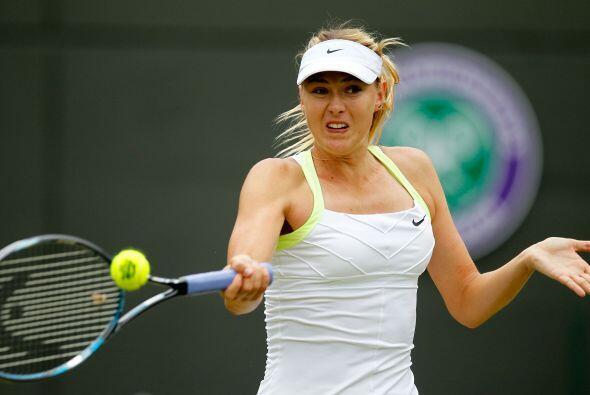 Sharapova, ganadora de Roland Garros y número uno de la clasifica...