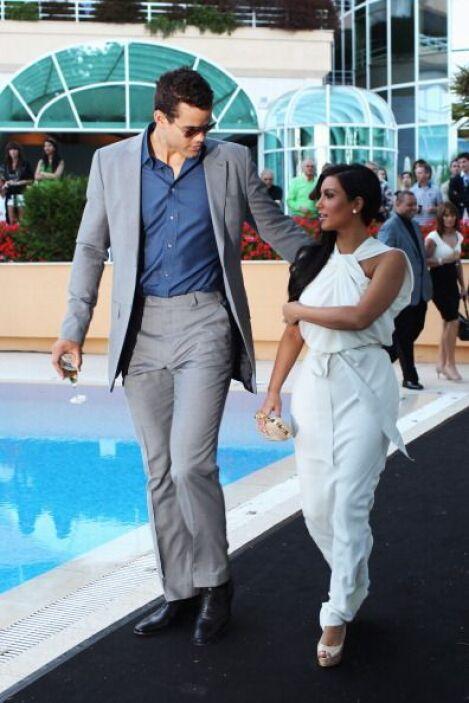 Se dice que la pareja estuvo ensayando toda la rutina anterior a la boda...