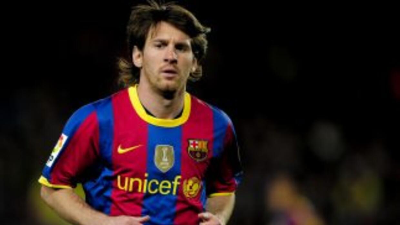Lionel Messi en racha de gol con el Barcelona.