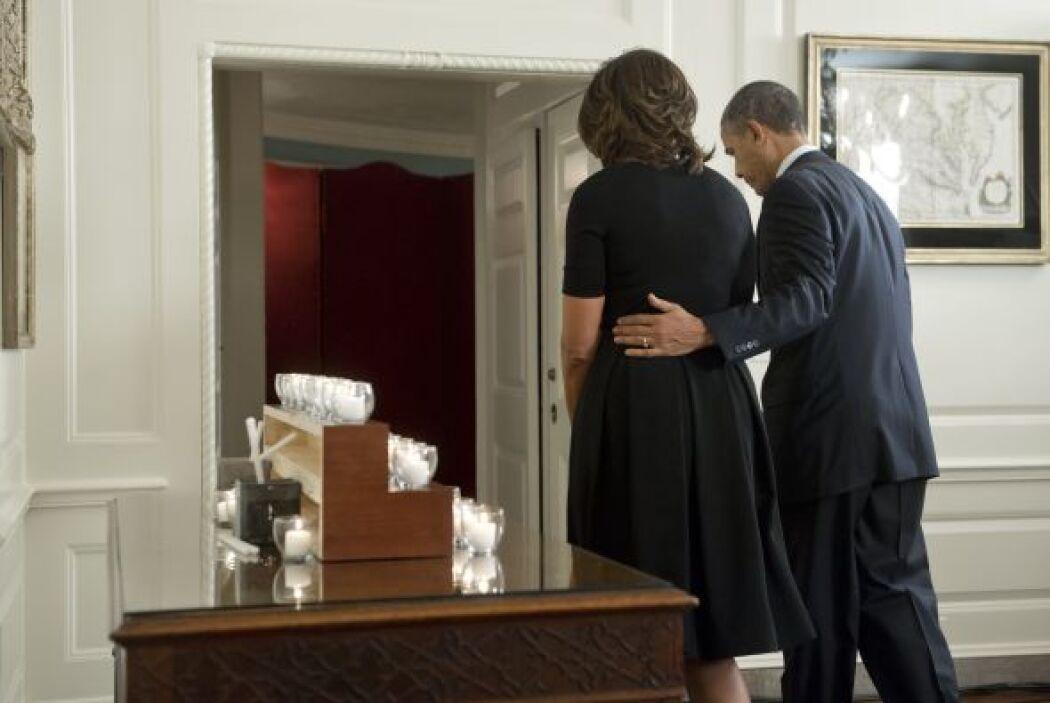 Obama dijo en su mensaje radial que la matanza de Sandy Hook será record...