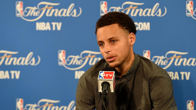 Curry indicó que en ningún momento se sintió cómodo con su tiro pero que...