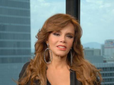 Lucía Méndez visitó los estudios de El Gordo y La F...