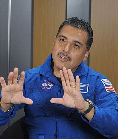 Nunca dejar de soñar¿Por qué quisiste ser un astronauta?, preguntó Natal...