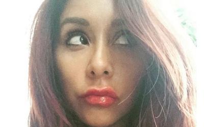 La famosa presumió nuevos labios.