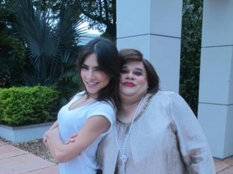 """Alejandra Espinoza y Lupe de Molina son dos de nuestras bellas en """"..."""
