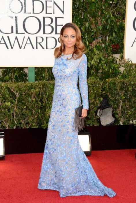 ¿Qué necesito Nicole Richie para ser un 'boom' de la alfombra roja? Un p...