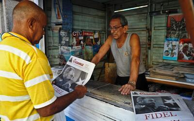 Las leyes cubanas solo reconocen a los medios oficiales.