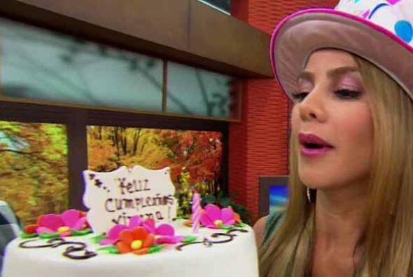 Este martes, Ximena Córdoba cumplió años y aunque e...