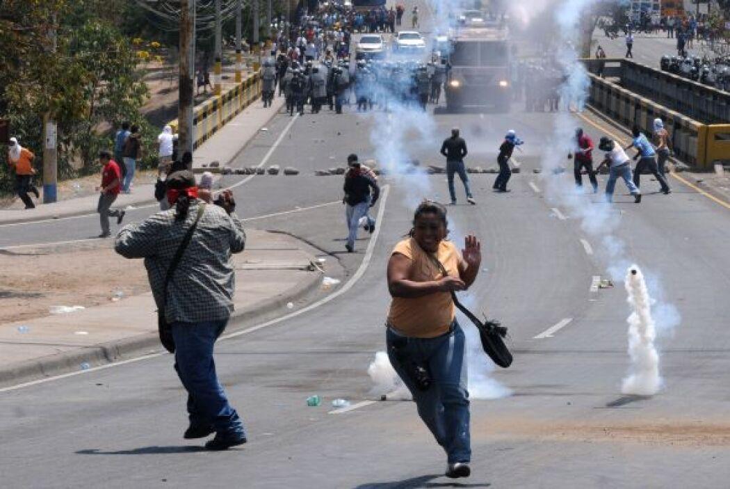 Honduras ha presentado en los últimos semanas una serie de protestas. Al...