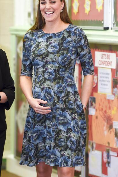 Fue dentro del centro infantil de Smethwick en Inglaterra que la duquesa...