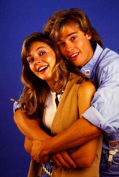 Aunque ella era mucho más joven que nuestro querido Brad Pitt.