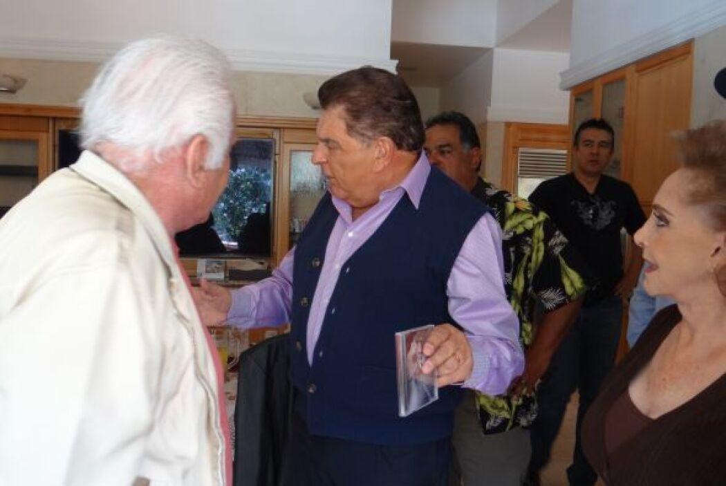 En un ambiente más íntimo, Don Francisco habló de todos los éxitos del c...