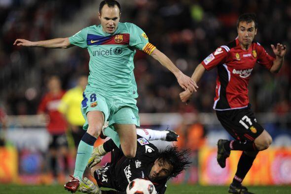 Andrés Iniesta fue el encargado de generar fútbol. Estuvo...