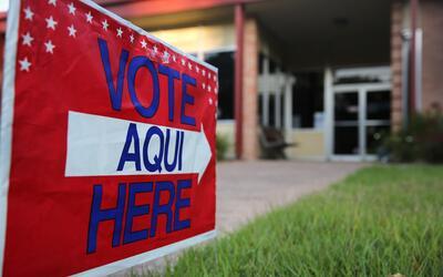 Las votaciones tempranas en Texas iniciaron el 24 de octubre y terminan...