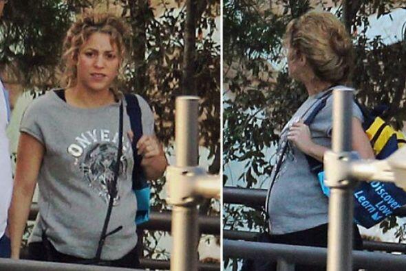 ¡Estas fueron las primeras fotos de su segundo embarazo!